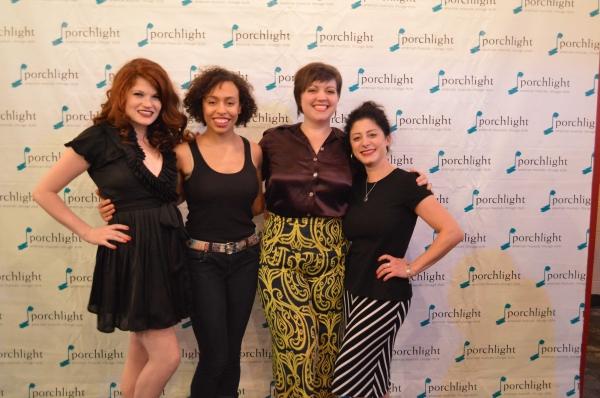 Elya Faye Bottiger, Kyrie Courter, Missy Aguilar and Dana Tretta