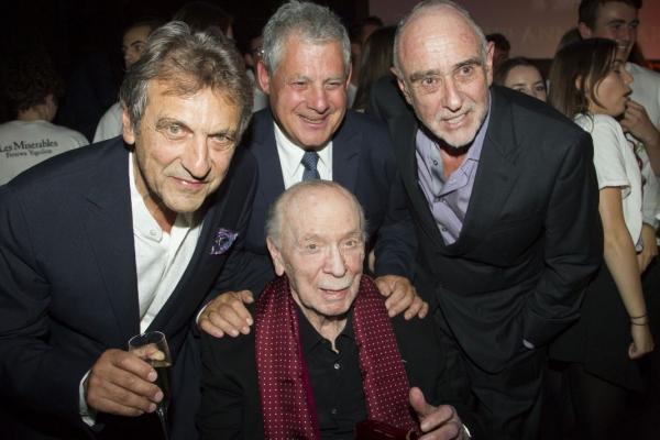 Alain Boubill, Cameron Mackintosh, Claude Michel Schonberg and Herbert Kretzmer