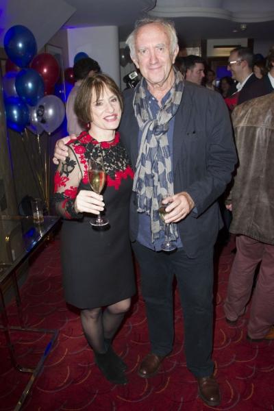 Patti Lupone and Jonathan Pryce