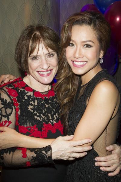 Patti Lupone and Rachelle Ann Go