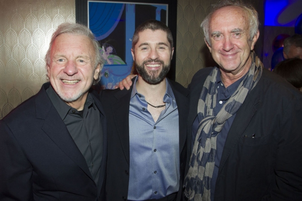 Colm Wilkinson, Peter Lockyer and Jonathan Pryce