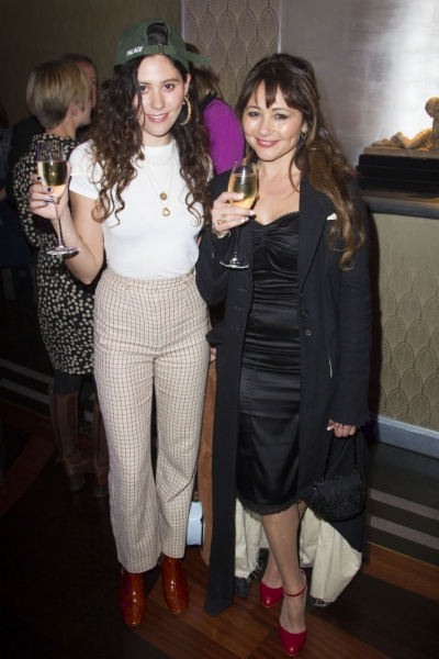 Eliza Doolittle and Frances Ruffelle