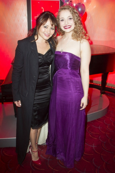 Frances Ruffelle and Carrie Hope Fletcher