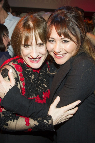 Patti Lupone and Frances Ruffelle