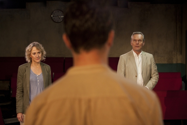 Niamh Cusack, Tom HUghes and Anthony Head