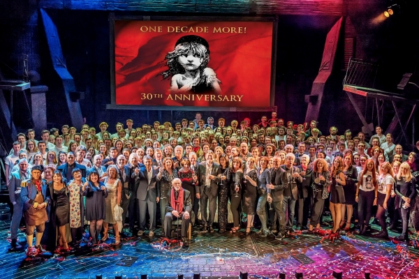 Photo Flash: Original, Current London Casts of LES MISERABLES Unite at 30th Anniversary Party!