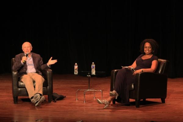 Terrence McNally with  Teresa Coleman