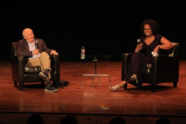 Terrence McNally with Teresa Coleman.