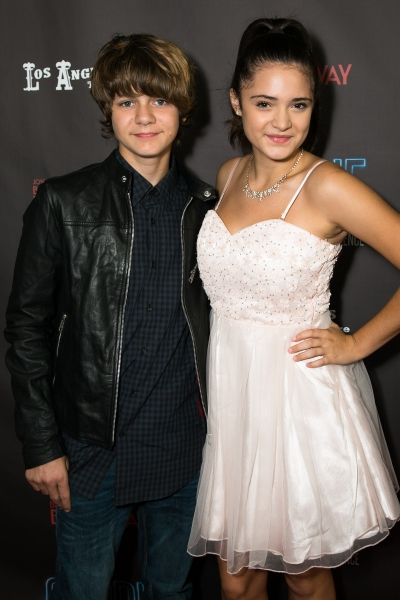 Ty Simpkins and Luna Blaise Photo