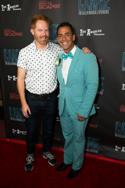 Jesse Tyler Ferguson and Bruce Robert Harris