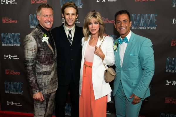 Joe Everett Michaels, Bryan Fox, Donna Mills and Bruce Robert Harris