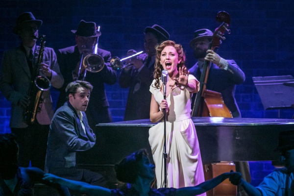 Photo Flash: First Look at Laura Osnes, Corey Cott, Beth Leavel and More in THE BANDSTAND at Paper Mill