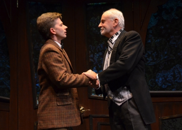 Christopher J. Young as ''Woodnut'' and Craig MacDonald as ''Papa'' Photo