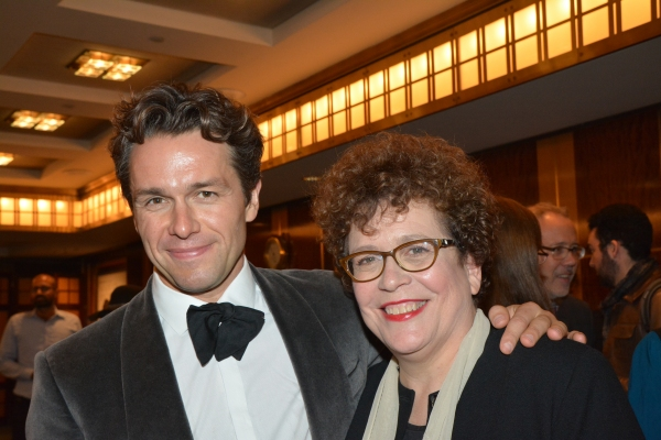 Julian Ovenden and Judith Clurman