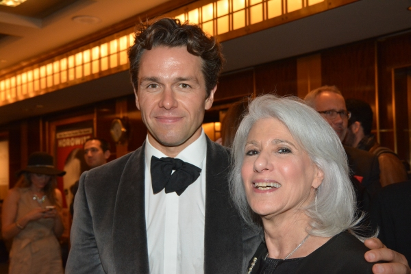 Julian Ovenden and Jamie deRoy