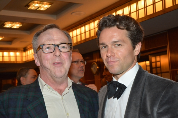 Edward Hibbert and Julian Ovenden