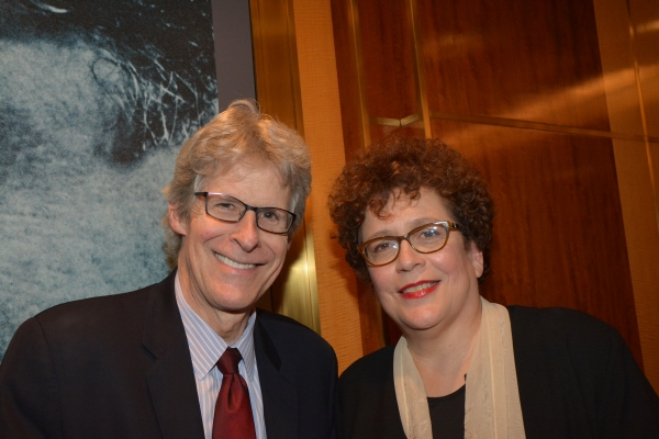 Ted Chapin and Judith Clurman