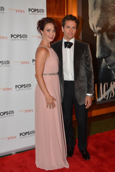 Sierra Boggess and Julian Ovenden