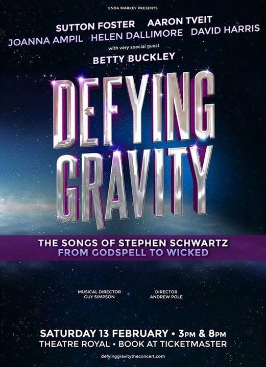 DEFYING GRAVITY Down Under: Sutton Foster, Aaron Tveit & Betty Buckley Head to Oz for Stephen Schwartz Concert