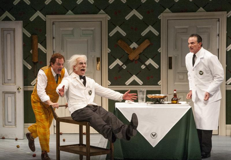 BWW Review: ONE MAN, TWO GUVNORS Serves Big Laughs in Newly Renovated Alley Theatre