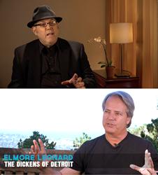 John Mulholland & Richard Zampella Filming Interviews for Elmore Leonard Documentary