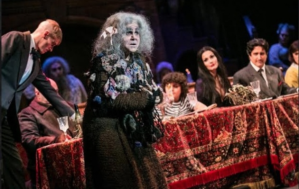 Photo Flash: First Look at Bronson Pinchot, Rachel York and More in 3-D Theatricals' THE ADDAMS FAMILY