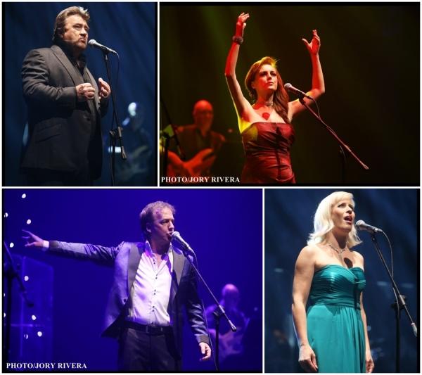 David Fawcett, Katie Leeming,  Andy Reiss, Rebecca Vere Photo