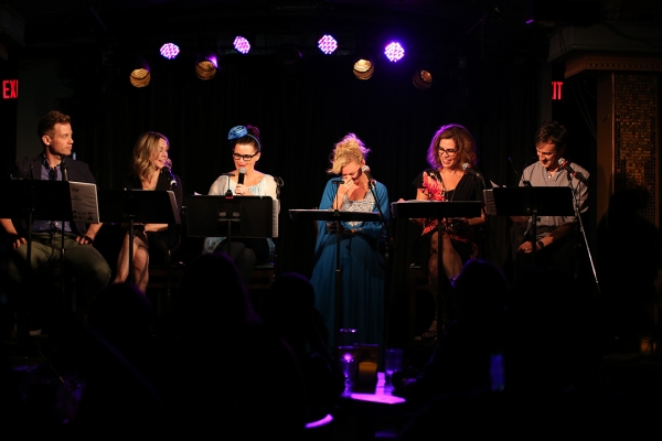 Barrett Foa, Mary Faber, Mary Birdsong, Laura Bell Bundy, Lori Alan and Jack Plotnick.