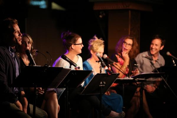 Barrett Foa, Mary Faber, Mary Birdsong, Laura Bell Bundy, Lori Alan and Jack Plotnick.