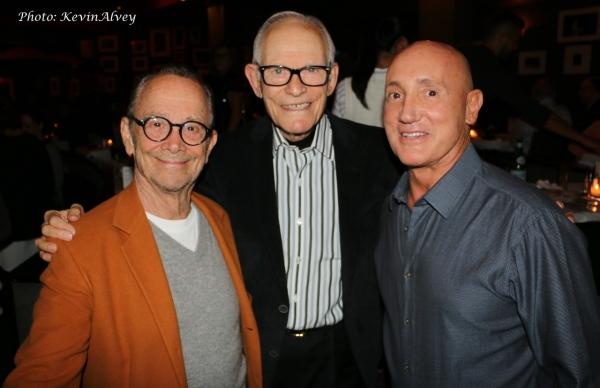 Joel Grey, Alan Bergman and Gianni Valenti