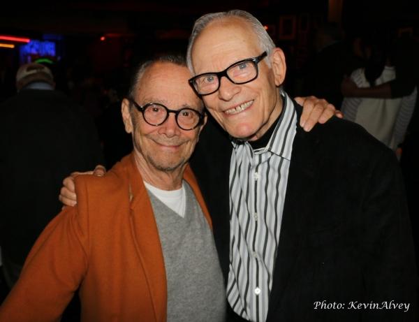 Joel Grey and Alan Bergman