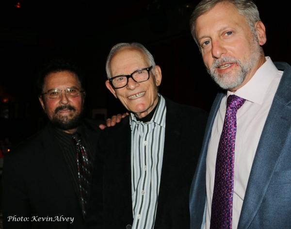 Mike Renzi, Alan Bergman and David Finck