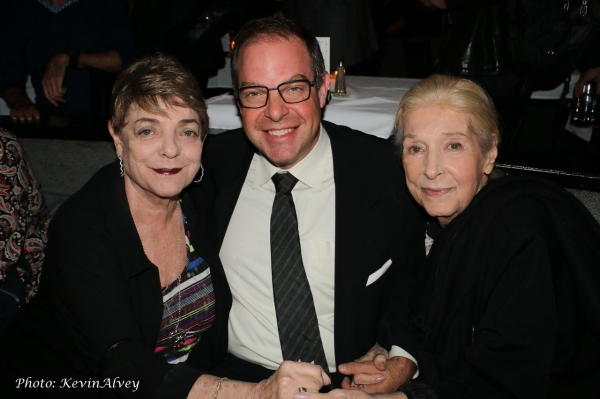 Sandy Stewart, Bill Charlap and Marilyn Bergman Photo