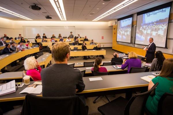 Matthew VanBesien & Lecture Students