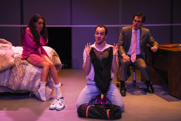 Gizel Jimenez as Malina, Jonathan Silver as Ira and Tommy Schrider as Adam