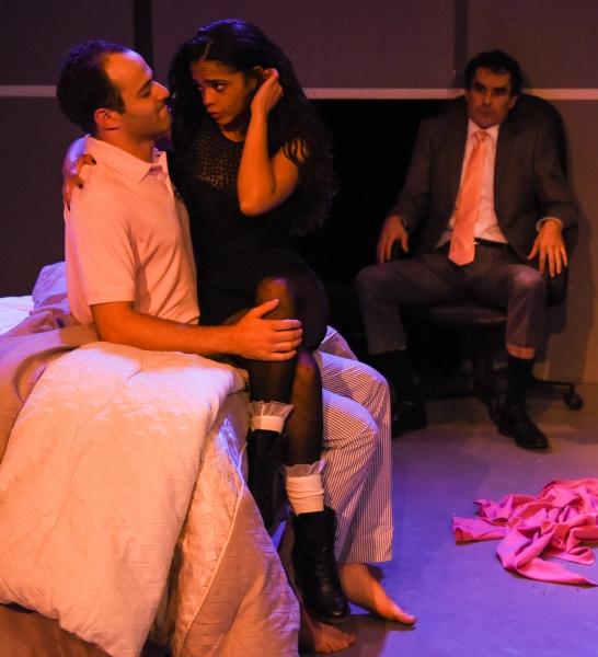 Jonathan Silver as Ira, Gizel Jimenez as Malina and Tommy Schrider as Adam