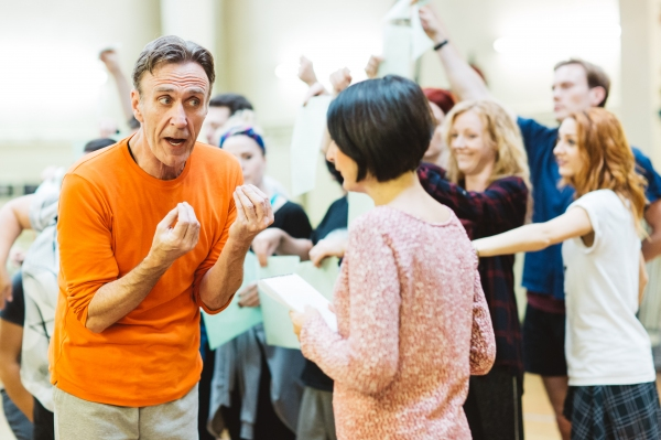 Photo Flash: In Rehearsal with Ben Forster, Kimberley Walsh and More for ELF THE MUSICAL in the West End