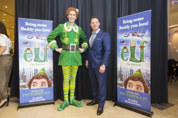Photo Flash Elf The Musical Hosts 39 Snow Globe Challenge