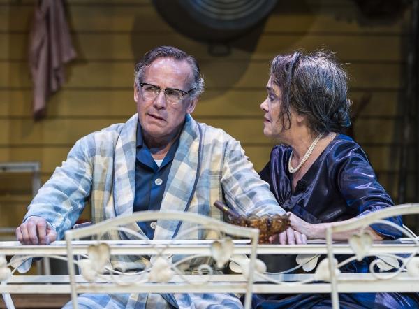 Geoff Elliott with Deborah Strang