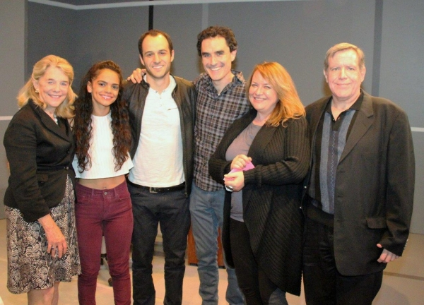 Urban Stages Founding Artistic  Frances Hill,  cast Gizel