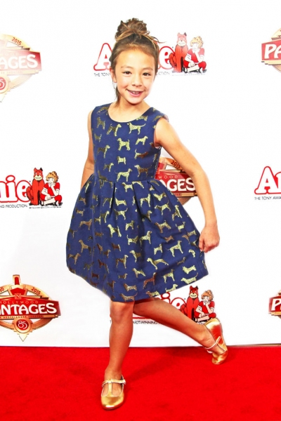 Photo Flash: First Look at Opening Night of ANNIE National Tour at the Pantages Theatre