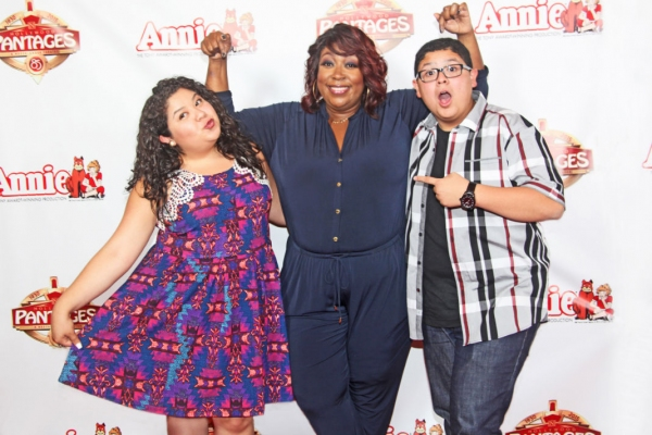 Raini Rodriguez, Loni Love and Rico Rodriguez