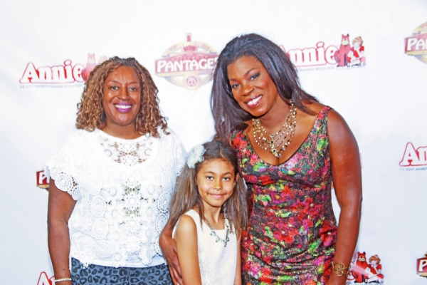 CCH Pounder, Lorraine Toussaint with Daughter Samara