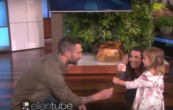 Adam Levine Meets Viral Video Star Who Cried When He Was Married