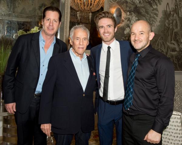 Davud Kabe Seltzer, Burt Bacharach, Kyle Riabko and Steven Hoggett
