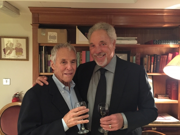 Sir Tom Jones and Burt Bacharach