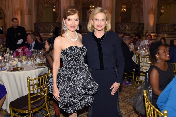 Jean Shafiroff and Congresswoman Carolyn Maloney