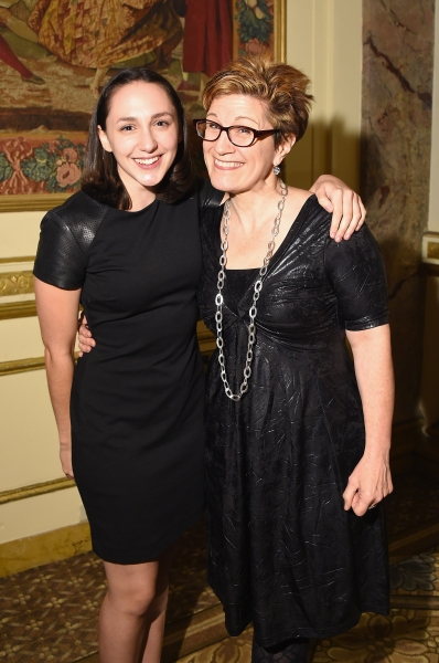 Lauren Patten and Lisa Kron of FUN HOME