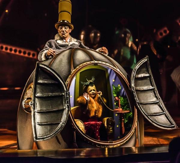 Review: Cirque du Soleil's Phenomenal Extravaganza KURIOS ...