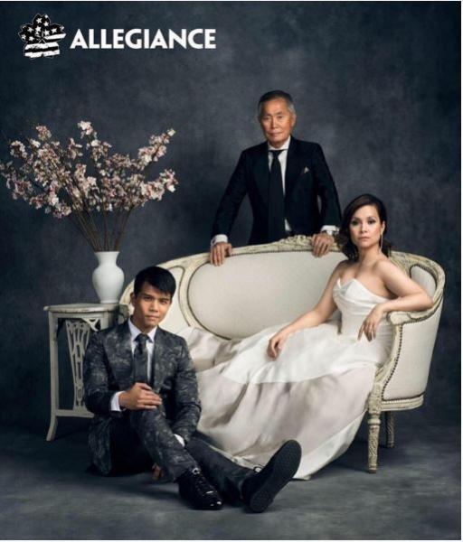 Telly Leung, George Takei, Lea Salonga